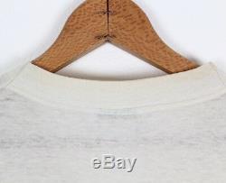 Vtg 70s 80s The Beatles John Lennon Portrait Print T Shirt Apple Records XL