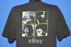 Vtg 90s BEATLES LET IT BE JOHN LENNON PAUL MCCARTNEY RINGO GEORGE t-shirt XL