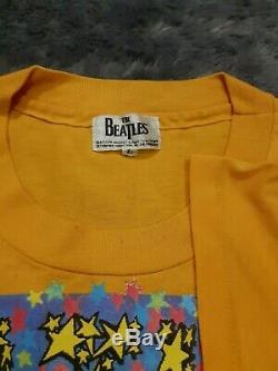 Vtg Beatles Magical Mystery shirt 1994 Winterland, Beatles All Over Print Shirt