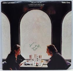 YOKO ONO Autographed Signed Heart Play LP JOHN LENNON BEATLES