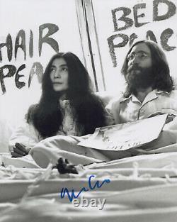 YOKO ONO signed Autographed JOHN LENNON 8X10 PHOTO PROOF The Beatles COA