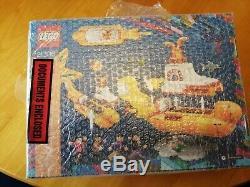 Yellow Submarine lego SIGNED. Lego ideas the beatles LEGO 21306 Ideas