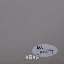 Yoko Ono John Lennon Beatles Autographed Signed Vintage 1986 4x6 Photocard JSA C